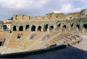 roman theatre of benevento